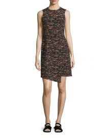 GREY by Jason Wu Sleeveless Tweed Dress Asymmetric Hem at Neiman Marcus