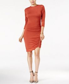 GUESS Charlene Ruched Bodycon Dress at Macys