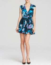 GUESS Dress - Scuba Floral at Bloomingdales