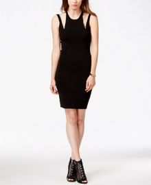 GUESS Euro Embellished Cutout Sheath Dress at Macys