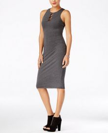 GUESS Kim Sleeveless Knit Midi Dress at Macys