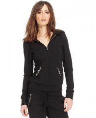 GUESS Studded Hoodie - Women - Macys at Macys