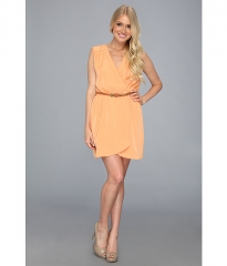 Gabriella Rocha Joannah Dress Peach at 6pm