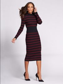 Gabrielle Union Collection Mock Neck Sweater Dress by New York & Company at NY&C