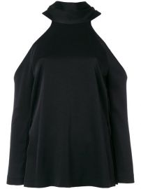 Galvan Sash Neck Longsleeved Tunic at Farfetch