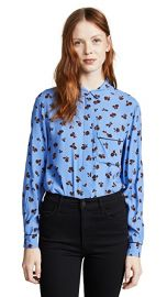 Ganni Roseburg Blouse at Shopbop