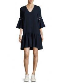Ganni - Clark Bell Sleeve Dress at Saks Fifth Avenue
