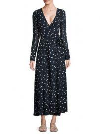 Ganni - Marceau Goergette Wrap Dress at Saks Fifth Avenue