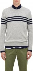 Gant Rugger Contrast-Stripe Sweater at Barneys