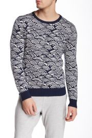 Gant Rugger Wave Jacquard Sweater at Nordstrom Rack