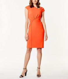 Gathered Dress by Karen Millen at Karen Millen