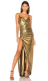 Gemeli Power Kotahi Gown in Vintage Gold from Revolve com at Revolve