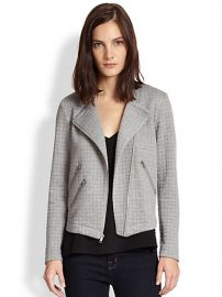 Generation Love - Duncan Quilted Knit Moto Jacket at Saks Fifth Avenue