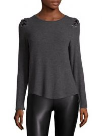 Generation Love - Pauline Lace-Up Top at Saks Fifth Avenue