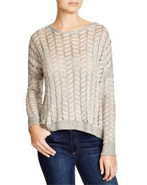 Generation Love Cable Mesh Sweater at Bloomingdales