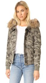 Generation Love Fran Camo Bomber Jacket at Shopbop