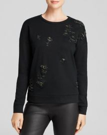 Generation Love Sweatshirt - Ripped Chainmail at Bloomingdales