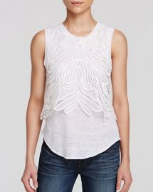 Generation Love Tank - Lace Overlay at Bloomingdales