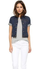 Genetic Los Angeles Blondie Short Sleeve Denim Jacket at Shopbop