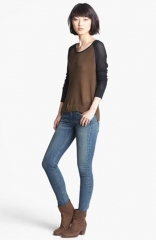Genevieve Colorblock Mesh Pullover by Rag and Bone at Nordstrom