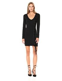 Genna Lace up Dress at Amazon
