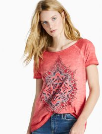 Geo Floral Tee at Lucky Brand