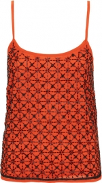 Geo beaded cami at Topshop at Topshop