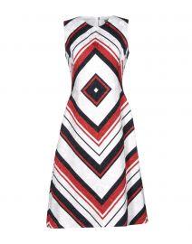 Geometric Print Dress by Dolce  Gabbana at Yoox