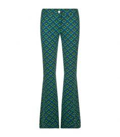 Geometric Trousers at Harrods