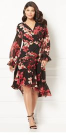 Georgina Wrap Dress by Eva Mendes Collection at New York & Company