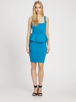 Georgina peplum dress by Alice and Olivia at Saks Fifth Avenue