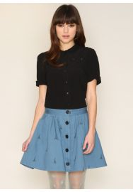 Geraldine Eiffel Skirt  at Pepa Loves
