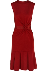 Giambattista Valli Red Wool Dress at The Outnet