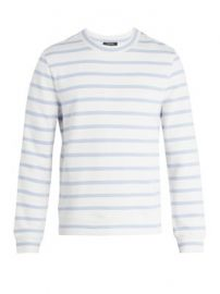 Gianno Tutti-embroidered striped cotton sweatshirt at Matches