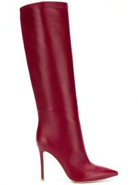 Gianvito Rossi Pointed Knee-length Boots - Farfetch at Farfetch