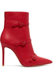 Gianvito rossi Robin 100 buckled leather ankle boots at Net A Porter