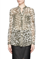 Gilmore blouse by DVF at Lane Crawford