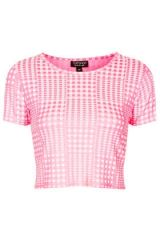 Gingham Jacquard Tee at Nordstrom Rack