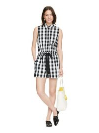 Gingham Romper at Kate Spade
