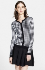 Gingham cardigan by RED valentino at Nordstrom