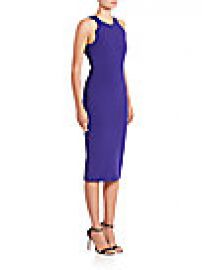Giorgio Armani - Cutout Sheath Dress at Saks Off 5th