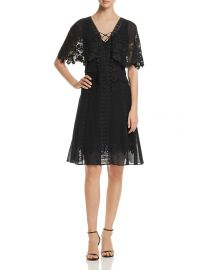 Giovanna Lace-Trim Dress at Bloomingdales