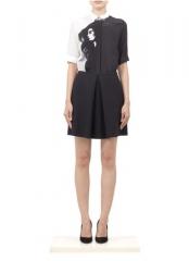 Girl print dress by Victoria Beckham at Lane Crawford