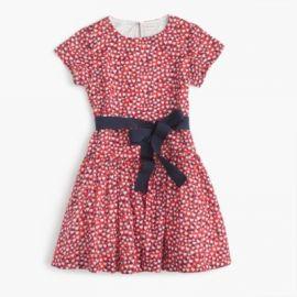 Girls  heart-print dress at J. Crew