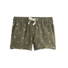 Girls  linen-cotton short in star print at J. Crew