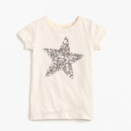 Girls  sequin star T-shirt at J. Crew