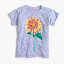 Girls  sunflower T-shirt at J. Crew