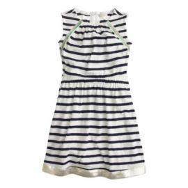 Girls cross-back striped sundress at J. Crew