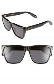Givenchy 58mm Flat Top Sunglasses at Nordstrom