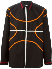 Givenchy Basketball Contour Shirt - at Farfetch